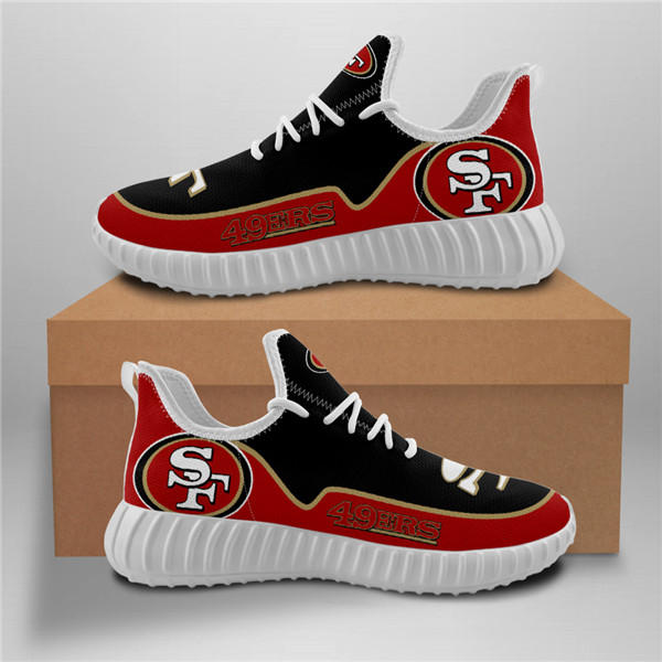49ers Mesh Knit Sneakers 1