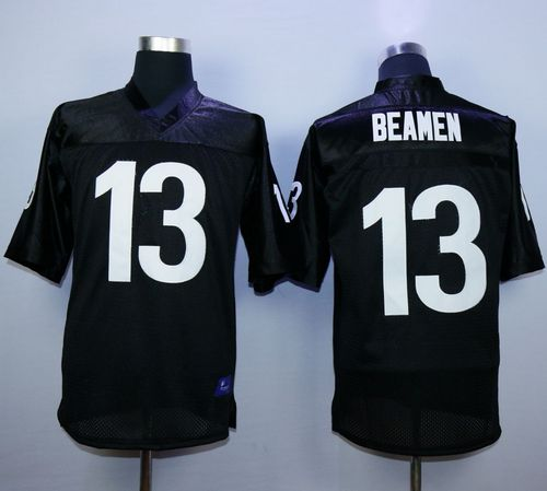 Any Given Sunday #13 Willie Beamen Black Stitched Football Jersey