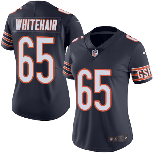 Bears #65 Cody Whitehair Navy Blue Team Color Women's Stitched Football Vapor Untouchable Limited Jersey