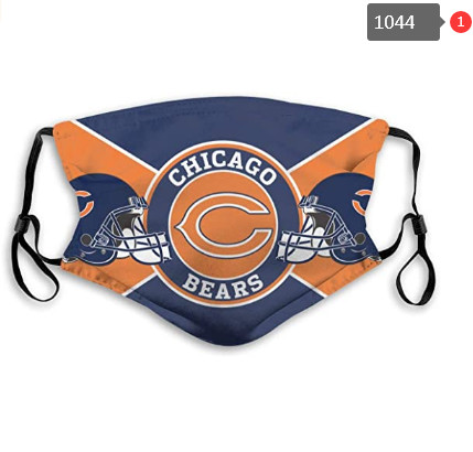 Bears Mask with Filter Double Protection PM2.5