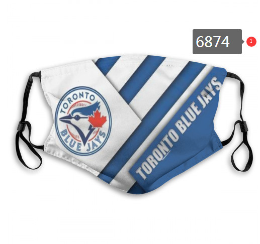 Blue Jays PM2.5 Mask with Filter Double Protection  (3)