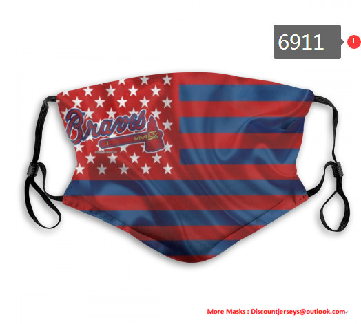 Braves PM2.5 Mask with Filter Double Protection  (3)