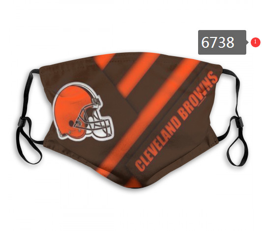 Browns PM2.5 Mask with Filter Double Protection  (3)
