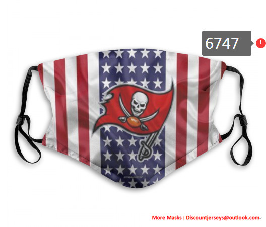 Buccaneers PM2.5 Mask with Filter Double Protection  (2)