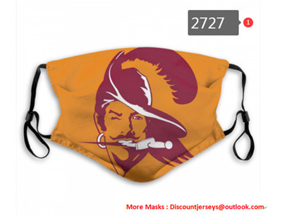 Buccaneers PM2.5 Mask with Filter Double Protection (1)