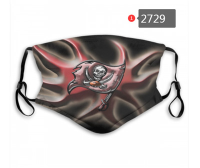 Buccaneers PM2.5 Mask with Filter Double Protection (3)