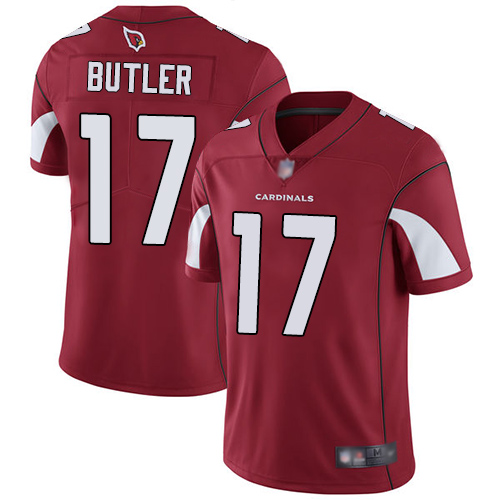 Cardinals #17 Hakeem Butler Red Team Color Men's Stitched Football Vapor Untouchable Limited Jersey