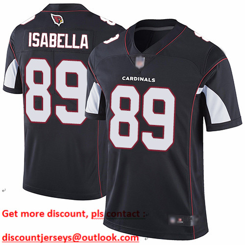 Cardinals #89 Andy Isabella Black Alternate Youth Stitched Football Vapor Untouchable Limited Jersey