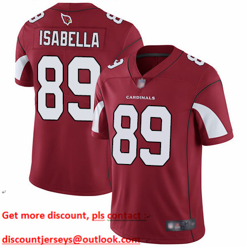 Cardinals #89 Andy Isabella Red Team Color Youth Stitched Football Vapor Untouchable Limited Jersey