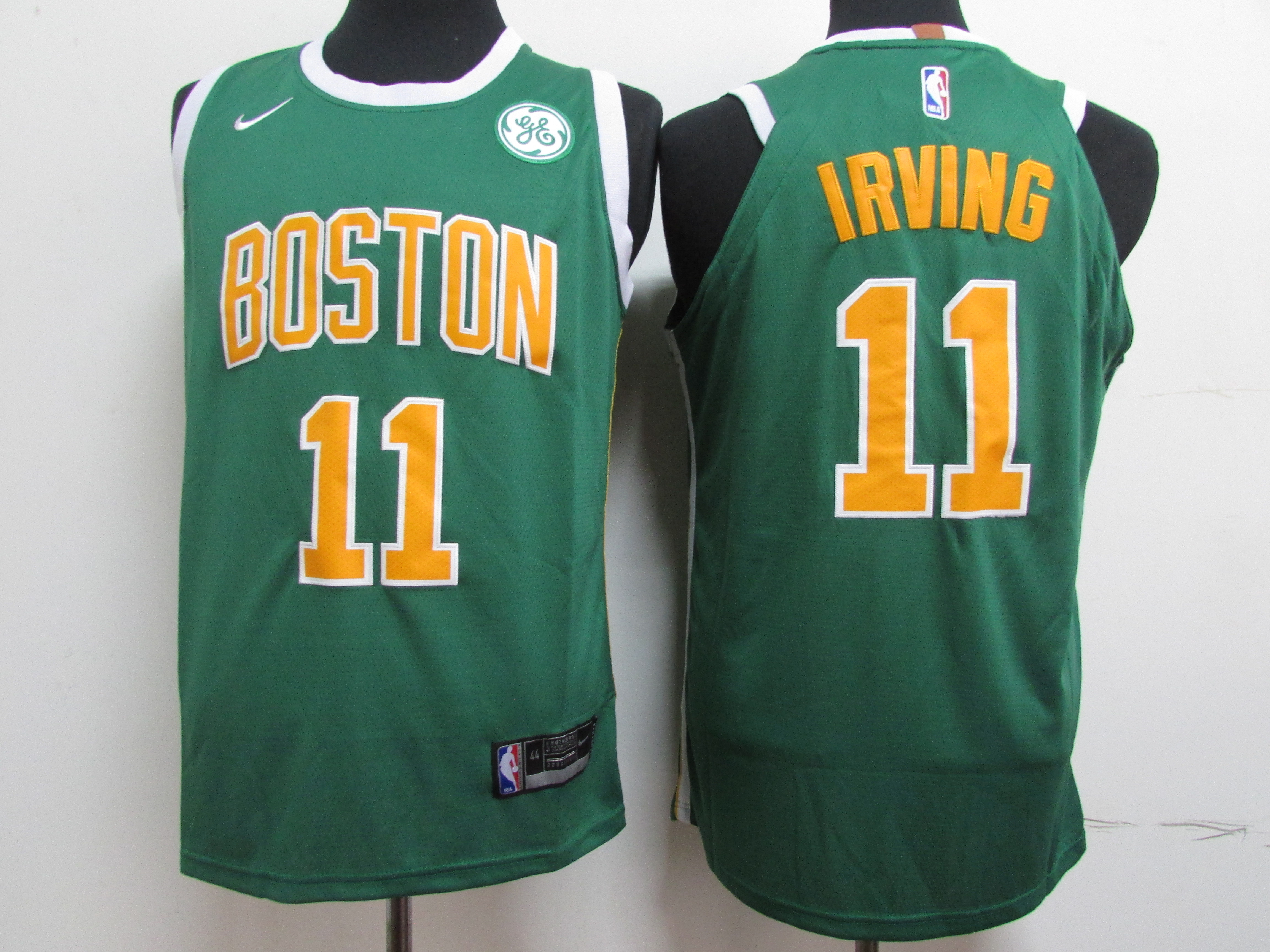Celtics 11 Kyrie Irving Green Nike Authentic Jersey