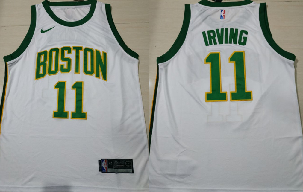 pretty nice 5fdcb a777f Celtics 11 Kyrie Irving Purple Nike Authentic Jersey