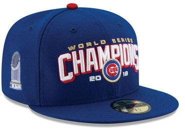 Chicago Cubs 2016 World Series Fitted Hat 2