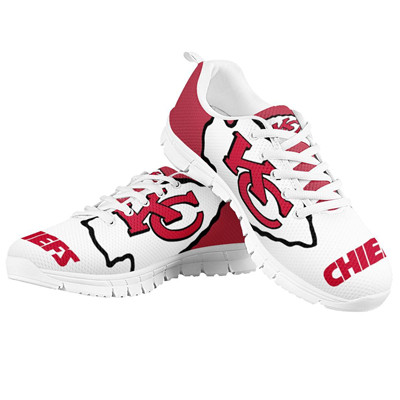 Chiefs Running Shoes White 1