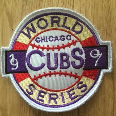 Cubs 1907 World Series Patch