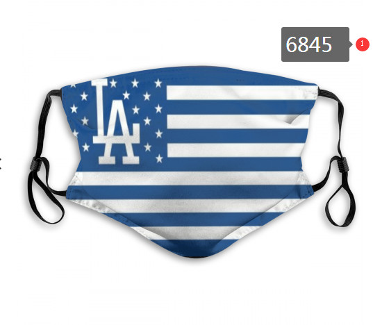Dodgers PM2.5 Mask with Filter Double Protection  (3)
