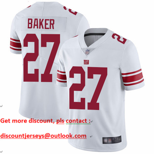Giants #27 Deandre Baker White Youth Stitched Football Vapor Untouchable Limited Jersey