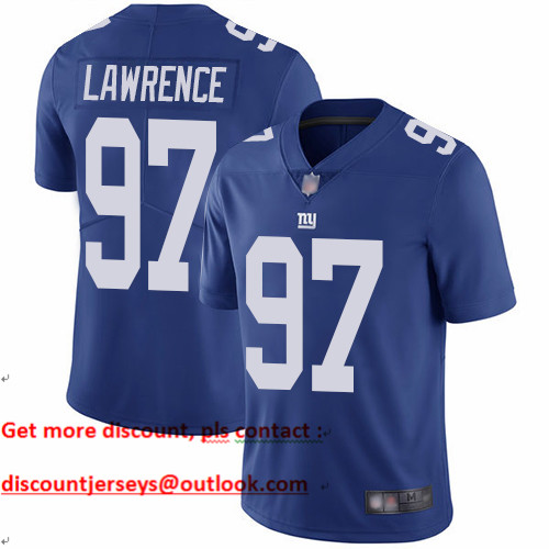 Giants #97 Dexter Lawrence Royal Blue Team Color Youth Stitched Football Vapor Untouchable Limited Jersey