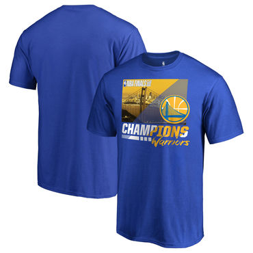 Golden State Warriors Fanatics Branded 2018 NBA Finals Champions Notorious Hometown City T-Shirt Royal