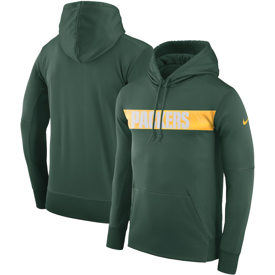 ff65f5a1 Men's Green Bay Packers Pullover Hoodie