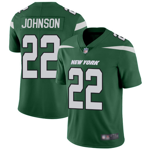 Jets #22 Trumaine Johnson Green Team Color Men's Stitched Football Vapor Untouchable Limited Jersey