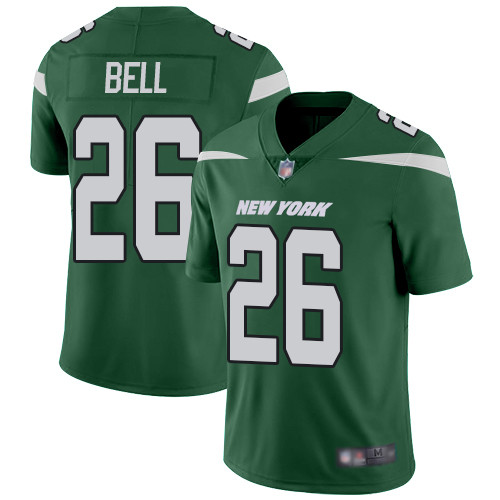 Jets #26 Le'Veon Bell Green Team Color Men's Stitched Football Vapor Untouchable Limited Jersey