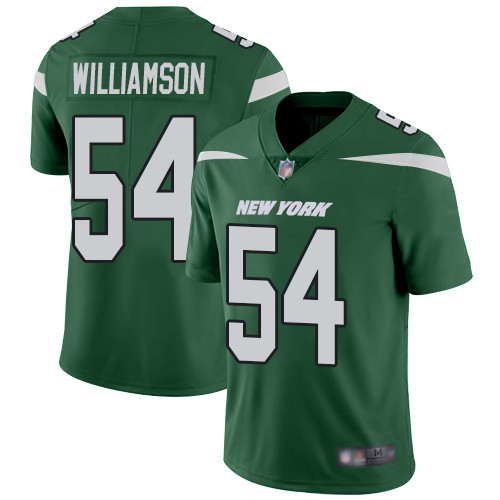 Jets #54 Avery Williamson Green Team Color Men's Stitched Football Vapor Untouchable Limited Jersey