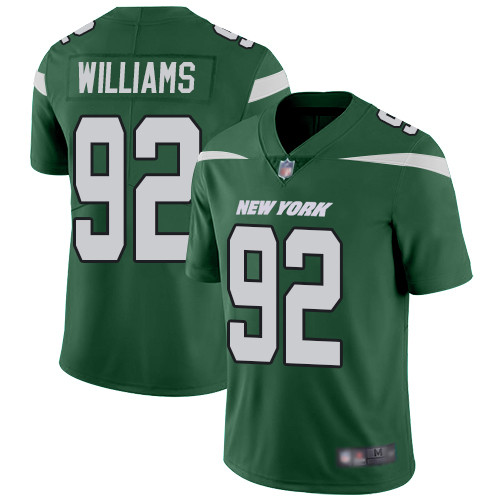 Jets #92 Leonard Williams Green Team Color Men's Stitched Football Vapor Untouchable Limited Jersey