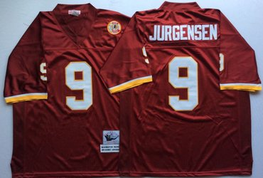 ... where can i buy mitchell and ness redskins 9 sonny jurgensen red  throwback stitched nfl jersey ... 3eb6eaf87