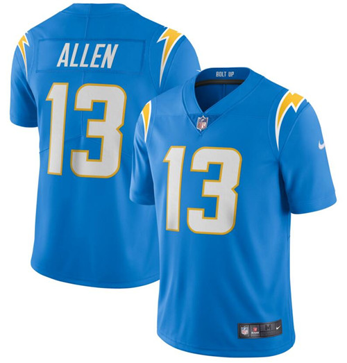 Nike Chargers 13 Keenan Allen Blue 2020 New Vapor Untouchable Limited Jersey