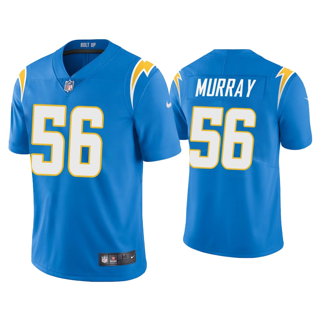 Nike Los Angeles Chargers #56 Kenneth Murray blue Vapor Untouchable Limited