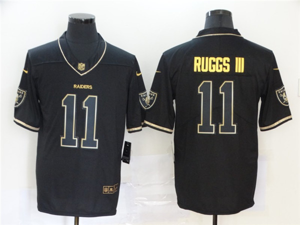 Nike Raiders 11 Henry Ruggs III Black Gold Vapor Untouchable Limited Jersey