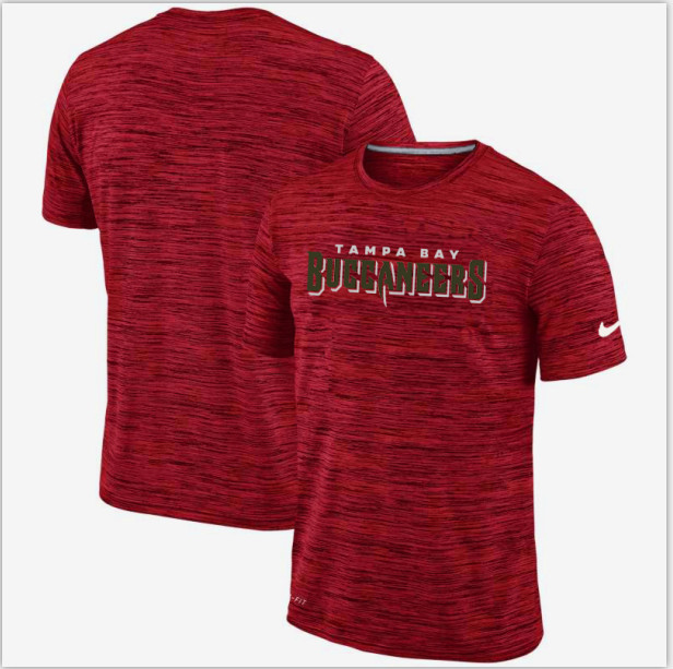 Nike Tampa Bay Buccaneers Red Velocity Performance T-Shirt
