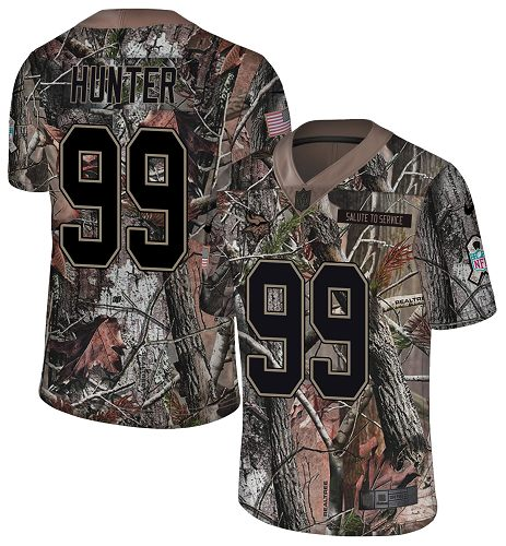 Nike Vikings #99 Danielle Hunter Camo Youth Stitched NFL Limited Rush Realtree Jersey