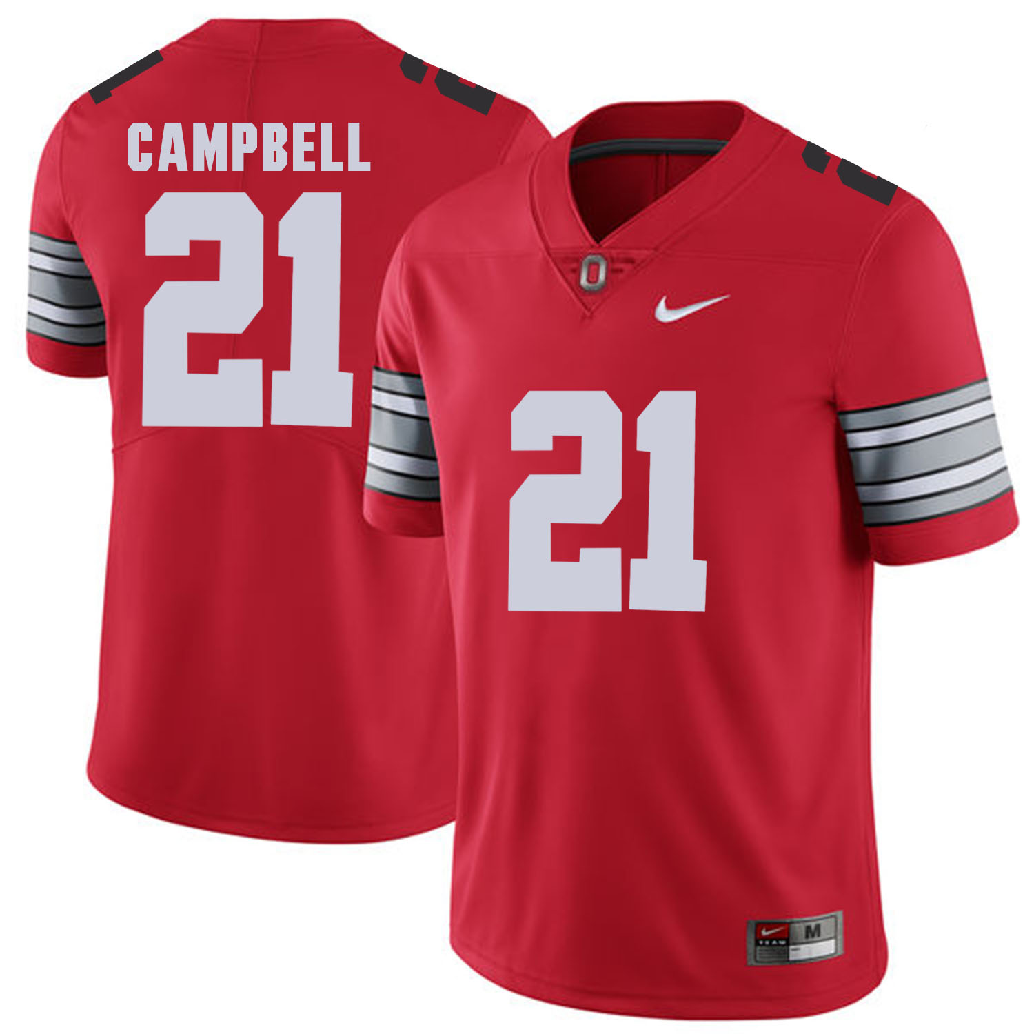 Ohio State Buckeyes 21 Parris Campbell Red 2018 Spring Game College Football Limited Jersey