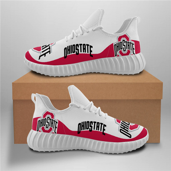Ohio State Mesh Knit Sneakers
