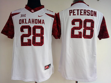 the best attitude 0d9cd 9d1f7 Oklahoma Sooners 28 Adrian Peterson Red College Football Jersey