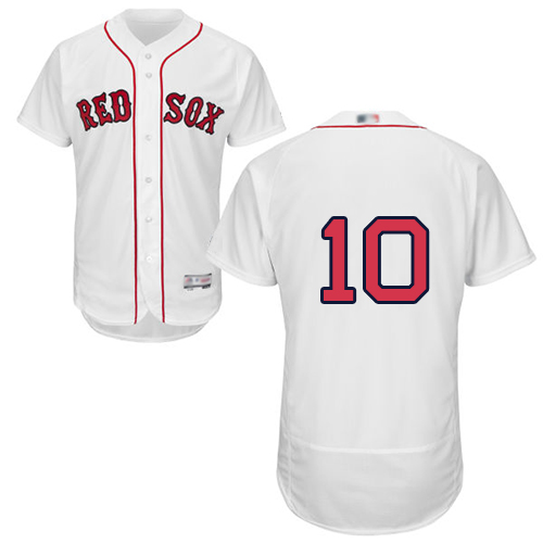 Red Sox #10 David Price White Flexbase Authentic Collection Stitched Baseball Jersey