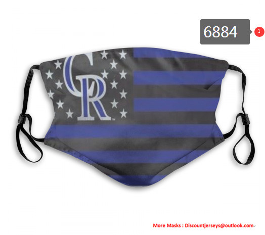 Rockies PM2.5 Mask with Filter Double Protection  (1)