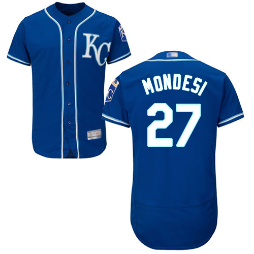 Royals #27 Raul Mondesi Royal Blue Flexbase Authentic Collection Stitched Baseball Jersey