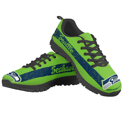 Seahawks Running Shoes Green
