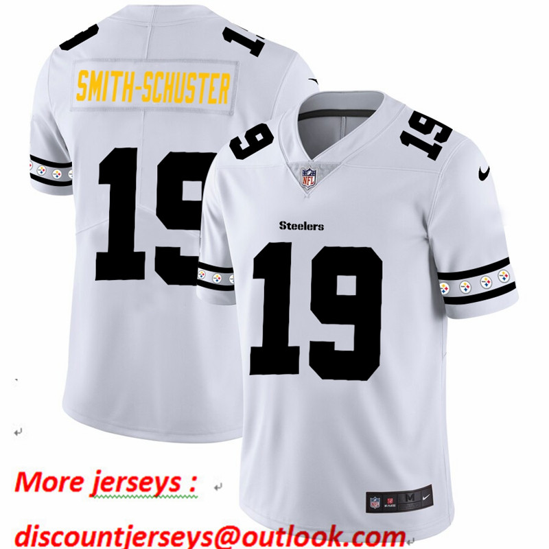 Steelers 19 JuJu Smith-Schuster White 2019 New Vapor Untouchable Limited Jersey