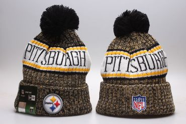 Steelers Fresh Logo Cold Weather Sport Knit Hat YP