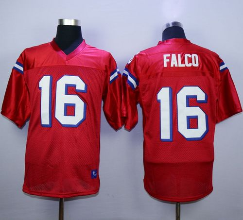 The Replacements #16 Shane Falco Red Stitched Football Jersey