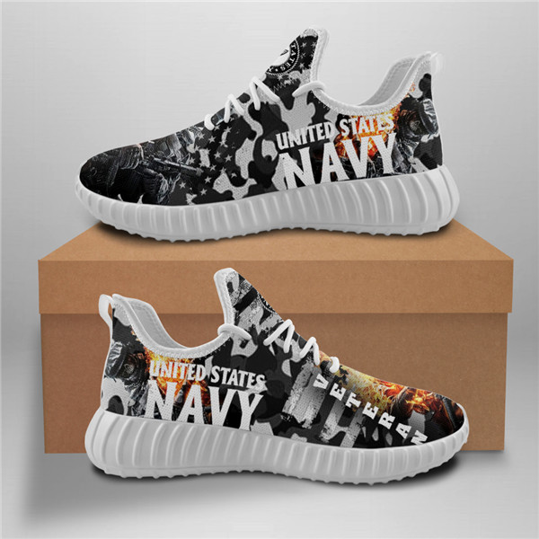 United States Navy Mesh Knit Sneakers