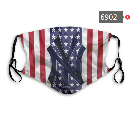 Yankees PM2.5 Mask with Filter Double Protection  (1)