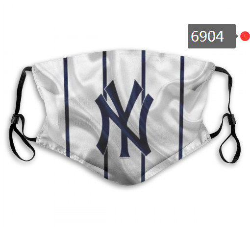 Yankees PM2.5 Mask with Filter Double Protection  (3)