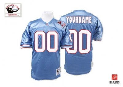 customized tennessee titans jersey throwback blue football jersey 96fed9b94