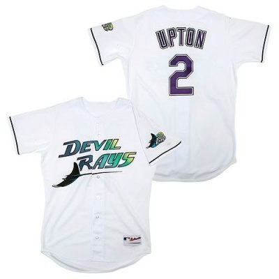 caf2203b ... jerseys 65ab0 48907; coupon code for tampa bay rays authentic 2 bj upton  1998 turn back the clock home